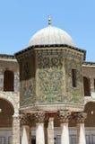 W Damaszek Umayyad Meczet, Syria. Zdjęcia Royalty Free
