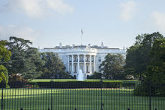 W DC Waszyngtońskiej południowej stronie Biały Dom fotografia stock