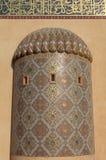W Doha meczetowy szczegół Zdjęcia Royalty Free