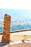 w dolinnym Morocco Africa atlant suchej góry zmielony isola Zdjęcie Royalty Free
