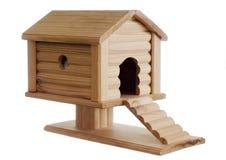 w domu drewnianego zabawek Zdjęcie Royalty Free