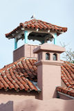 w domu na południowy zachód kominów Obrazy Royalty Free