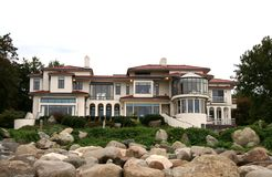 w domu nieruchomości luksusowy real zdjęcie royalty free