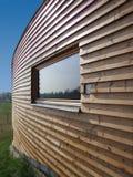 w domu nowoczesnego drewna Obraz Stock