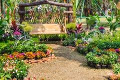 W domu ogródzie zdjęcie royalty free