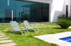 w domu patio Zdjęcie Royalty Free