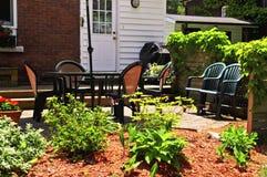 w domu patio zdjęcia royalty free