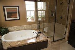 w domu w łazience luksus Zdjęcia Royalty Free