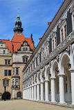 W Dresden dworski konia jard fotografia stock