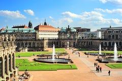 W Dresden Zwinger pałac obraz stock