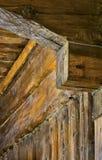 W drewnianego dom Obraz Stock