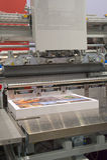W druku tnąca maszyna s Zdjęcie Royalty Free