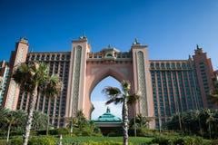 W Dubaj hotelowy Atlantis Zdjęcie Royalty Free