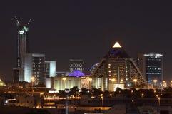 W Dubaj Mieście Wafi Centrum handlowe zdjęcia royalty free