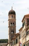 W Dubrovnik dzwonkowy wierza Zdjęcie Stock