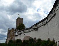 W Eisenach Wartburg Kasztel, Niemcy zdjęcie royalty free