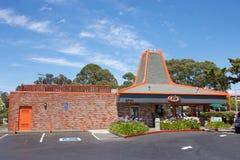 A & W fasta food restauracja Obrazy Stock