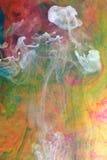 W fluidzie atrament chmury Zdjęcie Stock