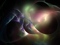 w fractal abstrakcyjne Zdjęcie Stock