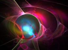 w fractal abstrakcyjne Zdjęcie Royalty Free