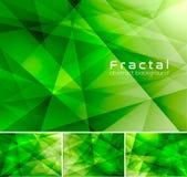 w fractal abstrakcyjne ilustracji