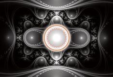 w fractal abstrakcyjne Obraz Royalty Free