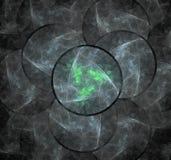 w fractal abstrakcyjne Obrazy Stock