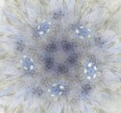 w fractal abstrakcyjne Fotografia Stock