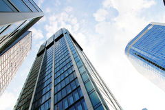 W Frankfurt nowożytna Architektura magistrala - Am - obraz stock