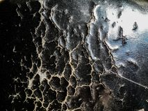 W górę łzy czarny Samochodowych siedzeń tekstury abstrakt obrazy royalty free