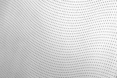 W górę białego dziurkowatego rzemiennego samochodowego siedzenia obrazy royalty free