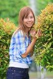 w górę kobiet zamknięty drzewo Fotografia Stock
