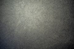 W górę powierzchni leatherette czerni kolor dla textured tła zdjęcie stock