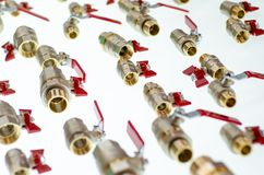W g?r? r??nych balowych klap i metali adaptator?w dla drymb zdjęcia royalty free