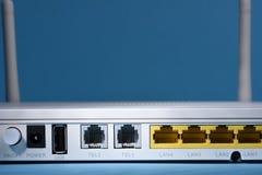 w górę radia zamknięty router fotografia royalty free