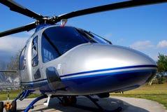 w górę vip zamknięty helikopter Obraz Stock