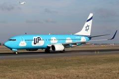 W górę - El Al Izrael linii lotniczych Obraz Royalty Free