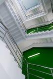 W górę schodowych kroków Zdjęcia Royalty Free