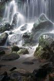 - w górę wodospadu Fotografia Royalty Free