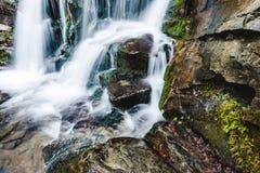 - w górę wodospadu Obraz Stock