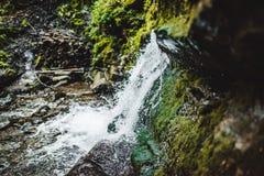- w górę wodospadu Obrazy Royalty Free