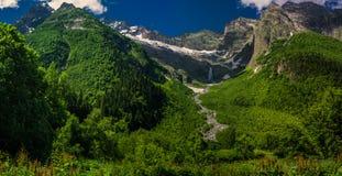 W górach Dombay Zdjęcia Royalty Free