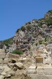 W górach dziejowi grobowowie zdjęcia royalty free