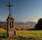 W górach mała kaplica Obraz Stock