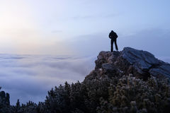 W górach piękny krajobraz Obraz Stock