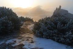 W górach piękny krajobraz Zdjęcia Stock