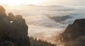 W górach piękny krajobraz Obraz Royalty Free