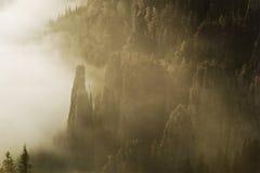 W górach piękny krajobraz Obrazy Royalty Free