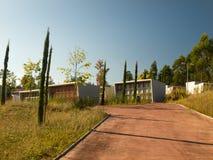 W Galicia nowożytny cmentarz Obraz Royalty Free