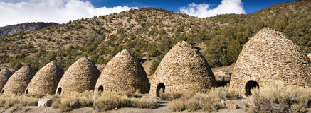 węgiel drzewny kilns wildrose Zdjęcie Royalty Free